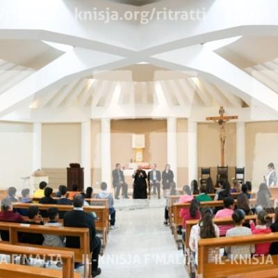 Viżta Pastorali San Sebastjan, Ħal Qormi: Żjara mal-adoloxxenti u l-operaturi pastorali – 27/03/17