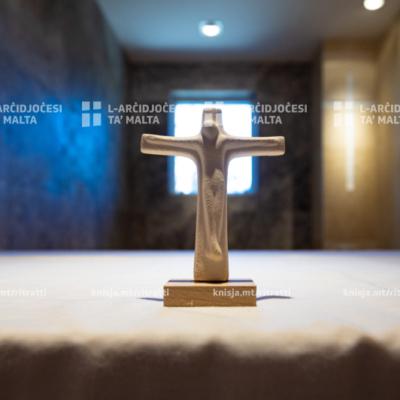 L‑Arċisqof iċċelebra quddiesa fil‑Kappella taċ‑Ċentru Terapewtiku ta' San Blas, Ħaż‑Żebbuġ – 14/03/21