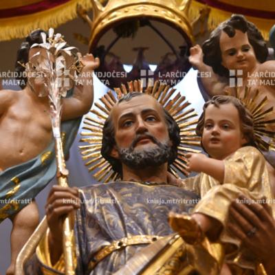 L‑Arċisqof iċċelebra Quddiesa Pontifikali fil‑Knisja ta' Santa Marija ta' Ġesù (Ta' Ġieżu), ir‑Rabat – 19/03/21