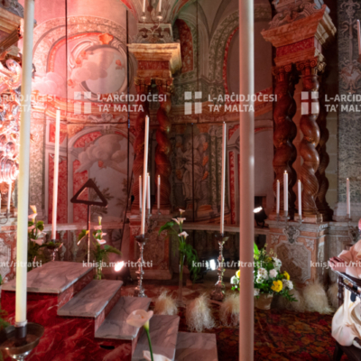 Quddiesa fl-Ikla tal-Mulej f'Ħamis ix-Xirka – 01/04/21