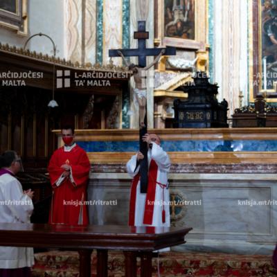 Azzjoni Liturġika tal‑Passjoni u l‑Mewt tal‑Mulej fil‑Katidral ta' San Pawl, l‑Imdina  – 02/04/21