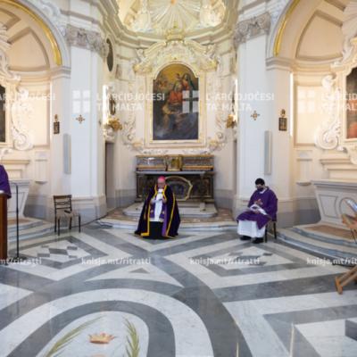 Uffiċċju tal‑Qari u t‑Tifħir ta' Sbiħ il‑Jum mill‑Kappella tal‑Madonna ta' Manresa – 03/04/21