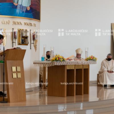 Quddiesa fil-Ħadd tal-Ħniena Divina – 11/04/21