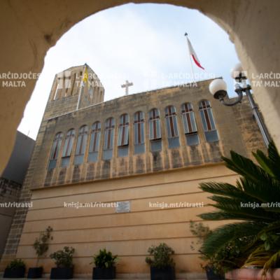 Quddiesa fil‑festa ta' San Ġużepp Ħaddiem, fil‑Knisja Parrokkjali ta' San Ġużepp Ħaddiem, Birkirkara – 01/05/21