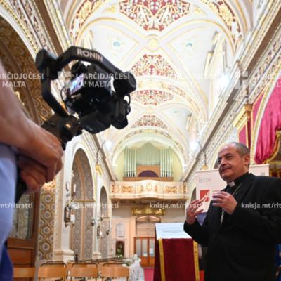 L-Isqof Awżiljarju inawgura r-restawr li sar fuq l-orgni tas-Santwarju tal-Madonna ta' Pompej, Marsaxlokk – 07/05/21