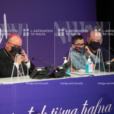 L-Arċisqof attenda għall-ftuħ tal-maratona ta' The Malta Trust Foundation – 08/05/21