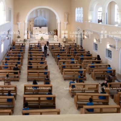 Quddiesa mis-Seminarju tal-Arċisqof, Tal-Virtu – 17/05/21