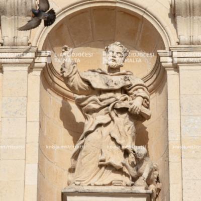 Quddiesa f'għeluq it‑800 sena mill‑mewt ta' San Duminku, fil‑Knisja tal‑Madonna tal‑Għar, ir‑Rabat – 24/05/21