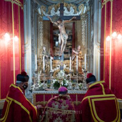 L‑Arċisqof mexxa t‑traslazzjoni tar‑relikwi u l‑ewwel għasar lejlet is‑Solennità tal‑Martirju ta' San Pietru u San Pawl, u wara ċċelebra quddiesa fil‑Katidral ta' San Pawl – 28/06/21