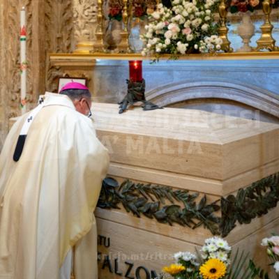 Quddiesa fil‑festa tal‑Beatu Nazju Falzon, fil‑Knisja ta' Ġieżu, il‑Belt Valletta – 01/07/21