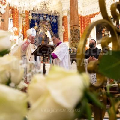 Quddiesa fil-festa tal-Madonna tal-Karmnu, fis-Santwarju tal-Madonna tal-Karmnu, il-Belt Valletta – 16/07/21