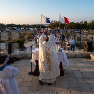 Quddiesa fuq l-irdum ta' Ħad-Dingli fl-okkażżjoni tal-festa ta' Santa Marija Maddalena – 22/07/21