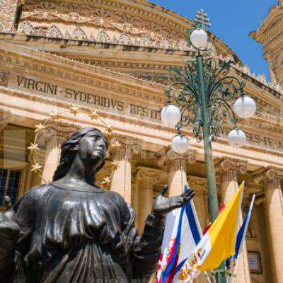 Quddiesa pontifikali fil-festa ta' Santa Marija Mtellgħa s-Sema, fil-Bażilika Minuri, il-Mosta – 15/08/21