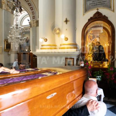 Quddiesa tal‑funeral ta' Dun Tancred Sultana, fil‑Knisja Parrokkjali ta' Gejtanu, il‑Ħamrun – 160821