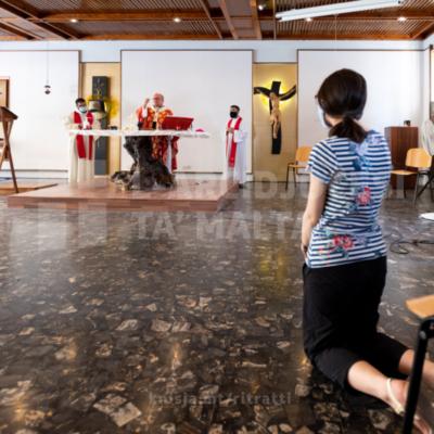 L-Arċisqof iċċelebra quddiesa mill-kappella ta' Junior College, l-Imsida, fil-jum ta' talb u sawm għall-poplu Afgan – 16/09/21