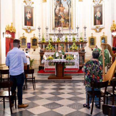 L-Isqof Awżiljarju iċċelebra quddiesa fil-Knisja ż-Żgħira ta' San Sebastjan, f'Ħal Qormi – 26/09/21