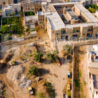 L Arċisqof żar ix xogħol li qed isir f'St Michael Hospice, Santa Venera – 04/10/21