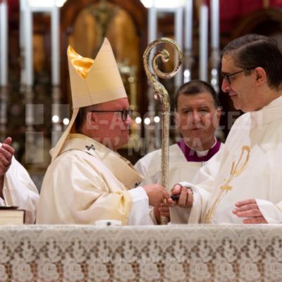 Bidu tal-ħidma pastorali ta' Patri Claudio Borg bħala l-kappillan il-ġdid tal-parroċċa ta' Ġesù Nazzarenu f'Tas-Sliema – 06/10/21
