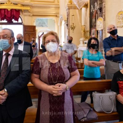 Quddiesa fit-28 Ħadd ta' Matul is-Sena u f'Jum in-Nanniet mis-Santwarju tal-Madonna tas-Samra, il-Ħamrun – 10/10/21