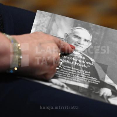 Serata mużiko‑letterarja f'għeluq il‑150 sena mit‑twelid tal‑poeta Dun Karm Psaila, fil‑Kurja tal‑Arċisqof, il‑Furjana – 17/10/21