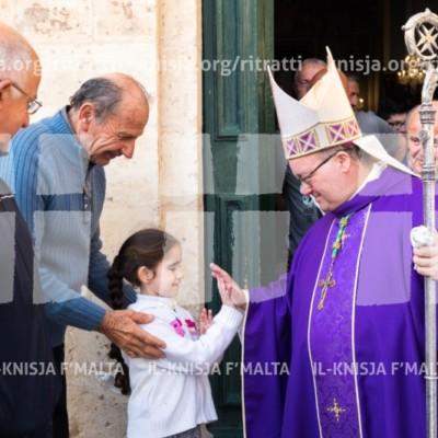 Viżta Pastorali Santa Venera: Quddiesa fil-Knisja l-Qadima – 01/04/17