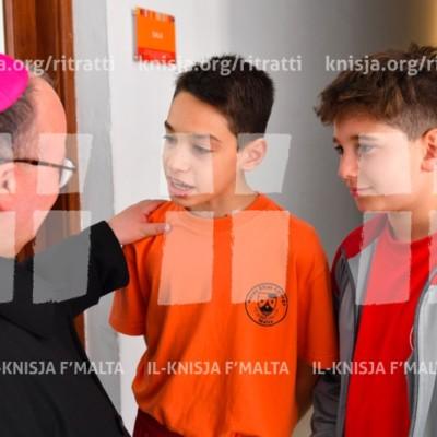 Viżta Pastorali Santa Venera – Żjara lill-anzjani f'Apap Institute u żjara lill-istudenti tal-iskola San Elija – 03/04/17