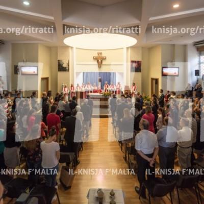 Quddiesa fil-ftuħ tas-sena akkademika tal-Università ta' Malta u żjara tal-Arċisqof waqt Freshers' Week 2016 – 03/10/16