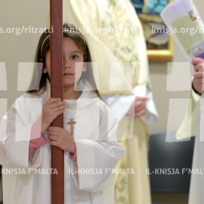 Quddiesa fil-festa tal-Ħniena Divina f'San Pawl tat-Tarġa – 23/04/17