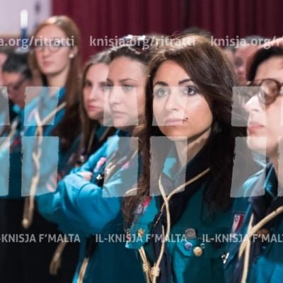 Quddiesa ta' ringrazzjament mal-Iscouts Association u l-Girl Guides Movement – 23/04/17