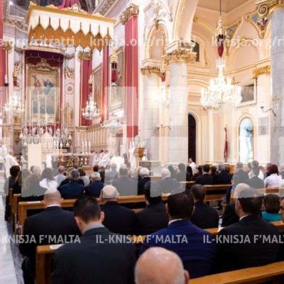 100 sena anniversarju mill-konsagrazzjoni tal-knisja tat-Trinità, il-Marsa – 19/04/17