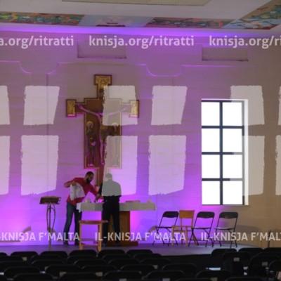 L-Arċisqof maż-żgħażagħ waqt il-konferenza 'Plexus' – 07/04/17
