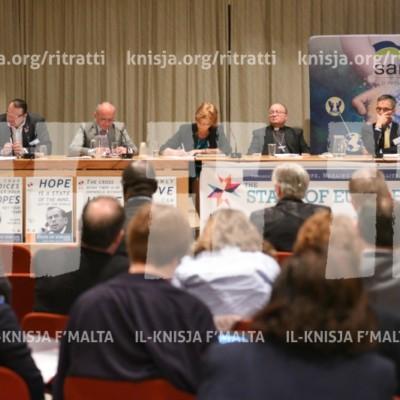L-Arċisqof jieħu sehem waqt The State of Europe Forum 2017 – 08/05/17