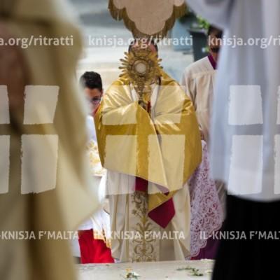 Quddiesa fil-festa tal-Ġisem u d-Demm tal-Mulej (Corpus Christi) – 18/06/17