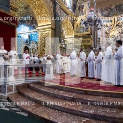 Quddiesa tal-Għoti tad-Djakonat – 26/06/17