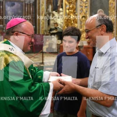 Quddiesa fil-ftuħ tax-Xahar tal-Ħolqien – 02/09/17
