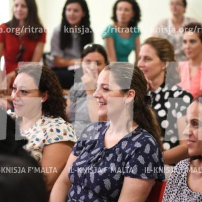 Laqgħa mal-għalliema, l-LSAs u l-KGAs il-ġodda fl-iskejjel tal-Knisja – 18/09/17