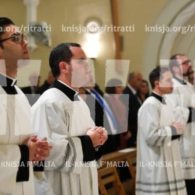 Erba' seminaristi jirċievu l-Ministeru tal-Akkolitat – 13/11/17
