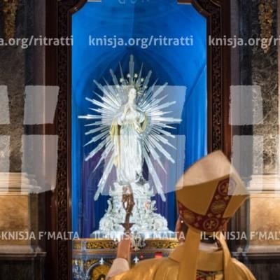 Viżta Pastorali Bormla: Quddiesa fil-Knisja Parrokkjali – 19/11/17