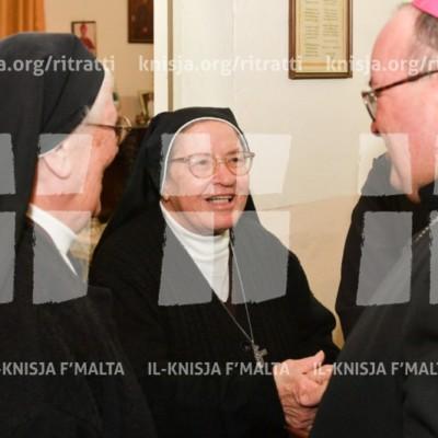 Viżta Pastorali Bormla: L-Arċisqof jiltaqa' mas-sorijiet – 20/11/17