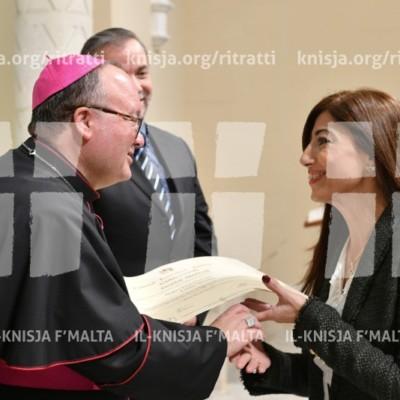 Gradwazzjoni tal-Istitut tal-Formazzjoni Pastorali – 22/11/2017