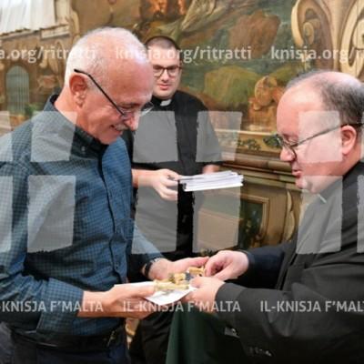 L-Arċisqof jiltaqa' mar-religious counsellors u ċ-chaplaincy teams tal-iskejjel tal-Istat – 22/10/17