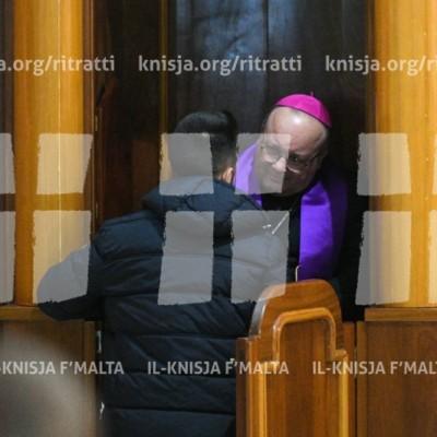 Viżta Pastorali Burmarrad: Quddiesa fil-Knisja Parrokkjali – 09/12/17