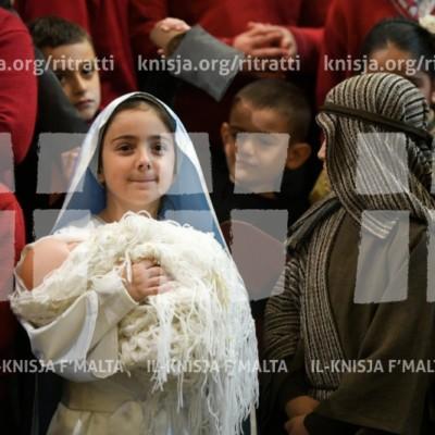 Quddiesa tal-Milied mal-istudenti tal-iskejjel f'Malta – 06/12/17