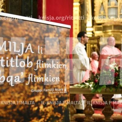 Quddiesa fl-okkażjoni tal-festa tal-Familja Mqaddsa mal-GRUFAN – 16/12/17