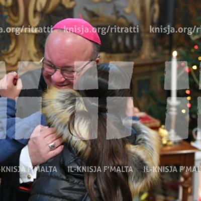 L-Isqfijiet jilqgħu lill-pubbliku għall-bdil tal-awguri tal-Milied fil-Kurja – 30/12/17