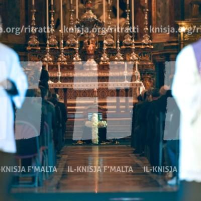 Quddiesa tal-funeral tal-Isqof Adeodato Micallef O.C.D. – 06/01/18