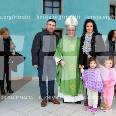 Viżta Pastorali Qawra: Quddiesa fil-Knisja Parrokkjali – 14/01/18