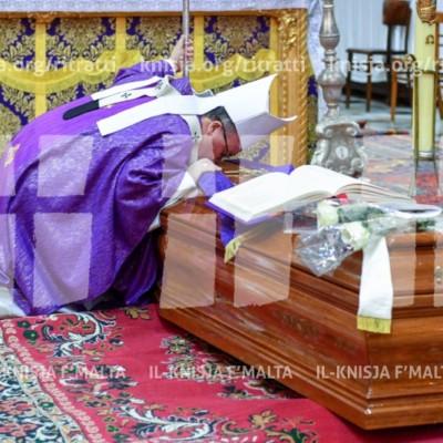 Quddiesa tal-funeral tal-Isqof Sylvester Carmel Magro O.F.M. – 22/01/18