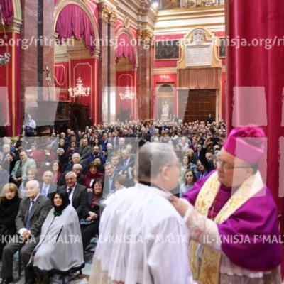 Il-festa tal-Konverżjoni ta' San Pawl u l-investitura ta' 8 Kanonċi ġodda tal-Kapitlu Metropolitan – 28/01/18