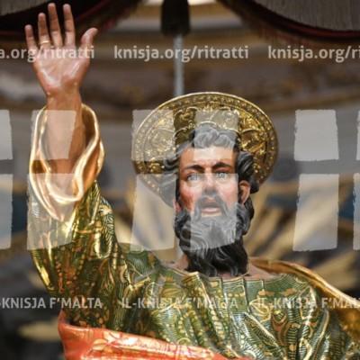 Il-festa tan-Nawfraġju ta' Missierna San Pawl, fil-Knisja San Pawl Nawfragu, Il-Belt Valletta – 27/01/18